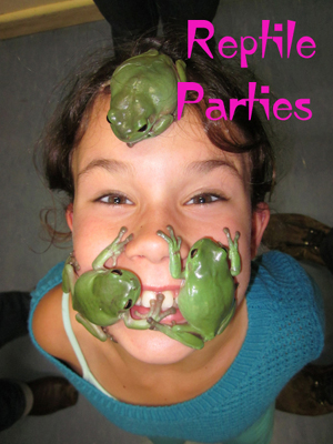 birthday reptile parties