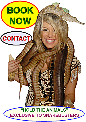 lady with snakes