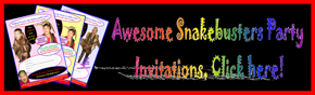 party invitations reptile parties